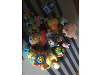 Baby to toddler toy selection