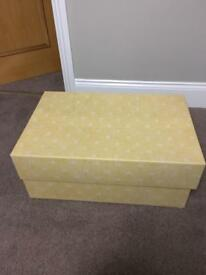 Wedding Dress Storage Box with Lid