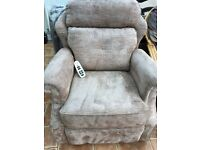 As new G plan electric recliner