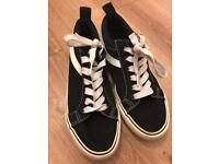 Atmosphere Black & White Trainers