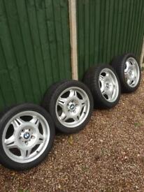 "BMW E36 M3 Style 24 Alloy Wheels 17"""