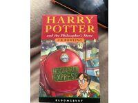 Harry Potter box set of three books