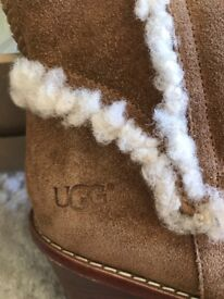 UGG knee high wedge boots