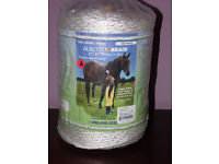 1000ft electro braid for horses equine