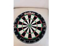 Winmau bristle dart board brand new