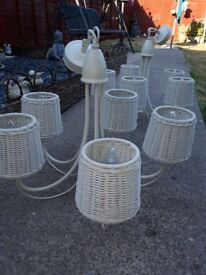 Ceiling lights very good condition cream color