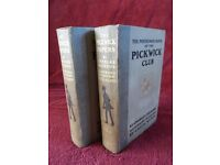 THE POSTHUMOUS PAPERS OF THE PICKWICK CLUB. DICKENS. 1910 CECIL ALDIN EDITION.