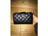 Chanel lamb leather classic quilted wallet