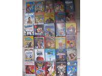 Job Lot of 30 VHS videos