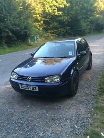VW golf 1.9 gt tdi