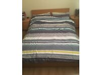 Large wooden bed for sale