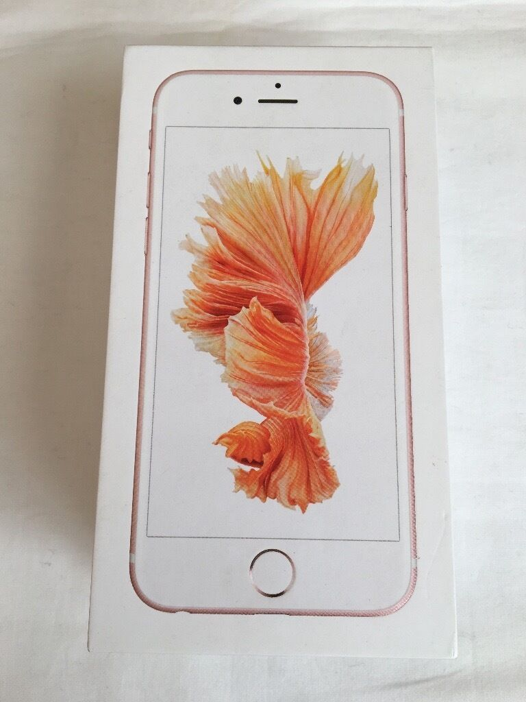 Apple iPhone 6S 16GB Rose Gold Brand new in box factory unlocked with warranty and proof of receiptin LondonGumtree - Apple iPhone 6S 16GB Rose Gold Brand new in box factory unlocked with warranty and proof of receipt for sale This is a brand new iPhone 6S 16GB Rose Gold Comes in box with all accessories instructions Comes with Apple warranty and proof of receipt...