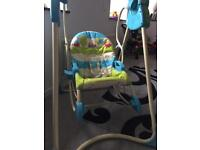 Baby 3 in 1 fisher price rocker/swing