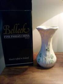Beleek daisy spill vase