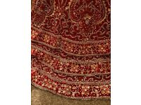 Indian/Pakistani bridal lengha