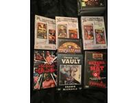Various WWE Wrestling DVDs