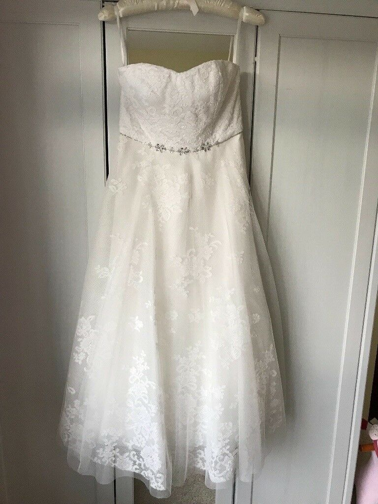 Monsoon Irina Wedding Dress, Ivory, Size 10, New with tags   in ...