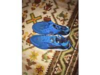 Nike blue Huaraches
