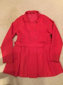 Girls Raincoat size 11-12 yrs