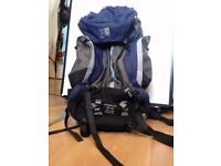 Travel bag by Karrimor. 60 L. Works perfectly in great condition