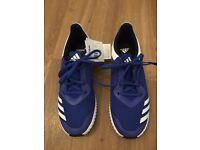 40c6ca301e304 Adidas Fortarun Unisex Cloudfoam Blue Running Trainers Size 3.5