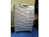 "Aerolite Hardshell Cabin Hand Luggage, Large 29""Luggage Suitcase Silver"