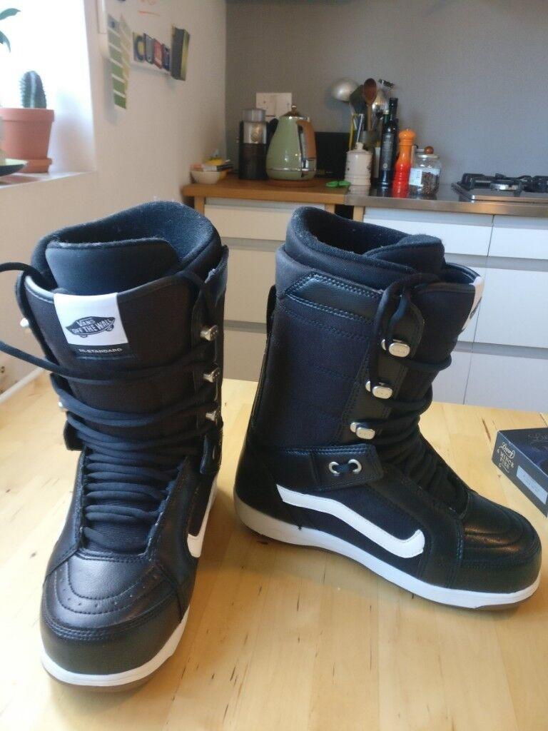 8c191c74458a Vans Hi-Standard Mens Snowboard Boots Size 7 - Excellent Condition