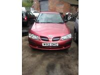 NISSAN ALMERA 1.5 PETROL ENGINE 2000 BREAKING FOR SPARES AND REPAIRS