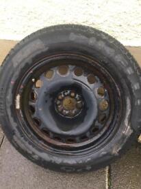 Spare wheel Peugeot 807