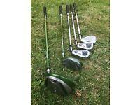 US Kids golf size 57 , set of 5 golf clubs