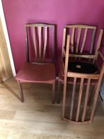 6 dining room chairs for free