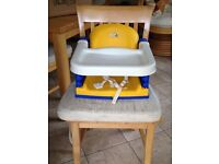 BABY BOOSTER SEAT - K&D DESIGN KIDS