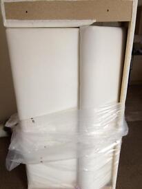 Ikea klippan sofa new with Grey cover