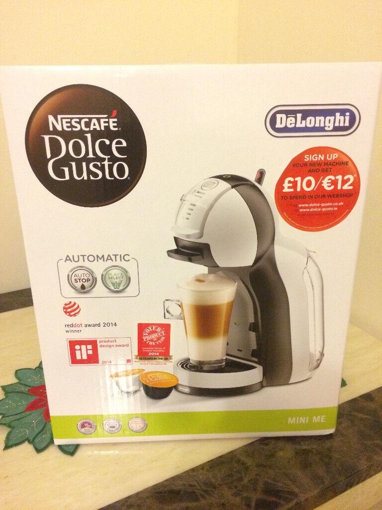 Nescafé Dolce Gusto By Delonghi Mini Me Edg305wb Pod Coffee