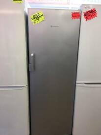 BOSCH FROST FREE UPRIGHT FREEZER IN SILIVER