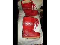 Brand New Kipling Moon/Ski Boots child size 13 - 2 UK