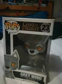 Grey wind funko pop