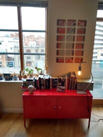 Cabinet Ikea PS Red