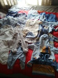 baby boys clothes 1 to 3months