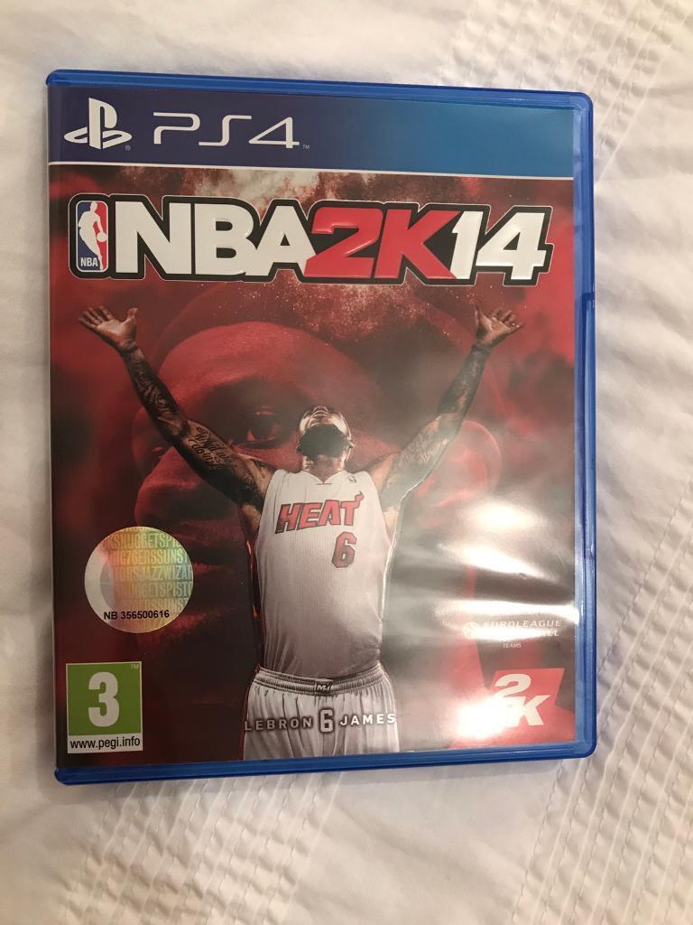 NBA 2K14 PS4 game