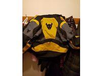 Buffalo motor bike jacket large