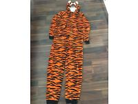 Tiger Onesie 13-14 years old