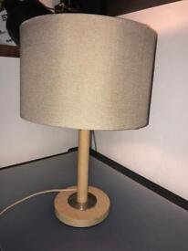Next wooden lamp.
