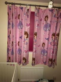 Curtains Sofia the first