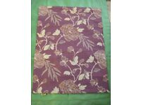 Marks and Spencer Purple with Gold Coloured Decoration Window Blind for £4.00