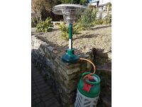 Table Top Patio Heater with Gas Bottle