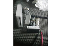 WII white console 2 controllers