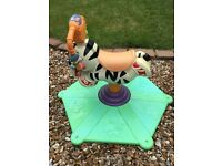 Fisher-Price Bounce 'N Spin Zebra