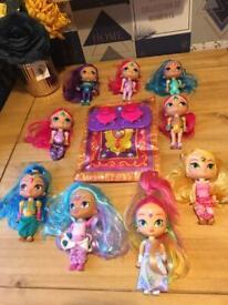 Shimmer & shine toy bundle