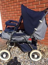 Emmaljunga pram/pushchair with toddler seat